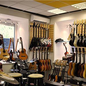 Музыкальные магазины Тупика